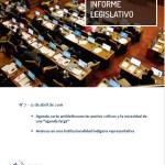 informe legislativo abril
